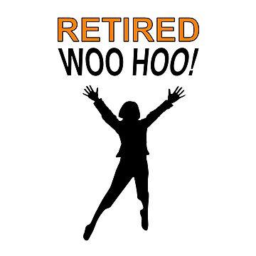 Retired Woo Hoo Woman by Almdrs