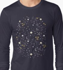 cosmos and stars Long Sleeve T-Shirt