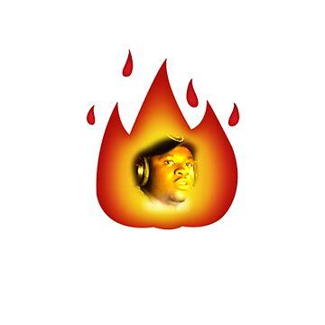 MANS NOT A FIRE EMOJI!  by SpermDonor
