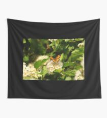 Pearl Crescent  Wall Tapestry
