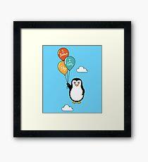 Penguin I Can Fly Framed Print
