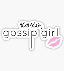 Gossip Girl Design  Sticker