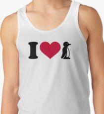 I love Penguin T-Shirt