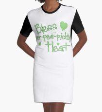 Bless your heart Graphic T-Shirt Dress