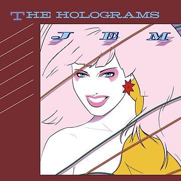 Jem und die Hologramme Album Cover von Pipperdigs