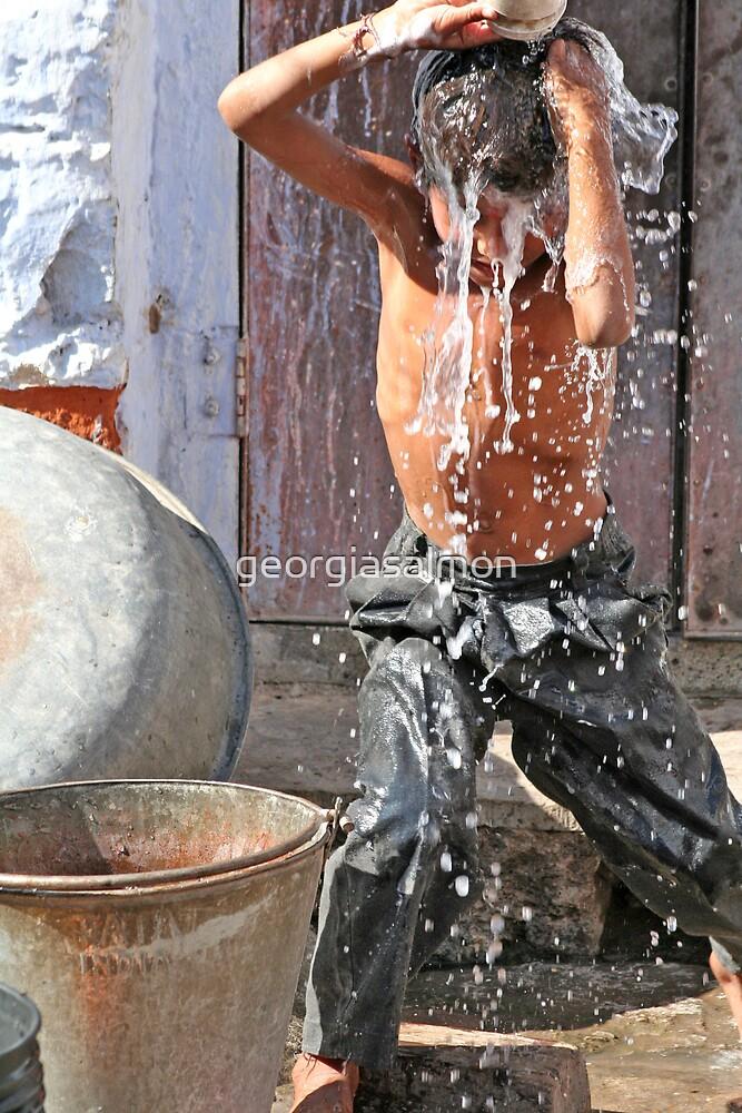 Jaipur bath time by georgiasalmon