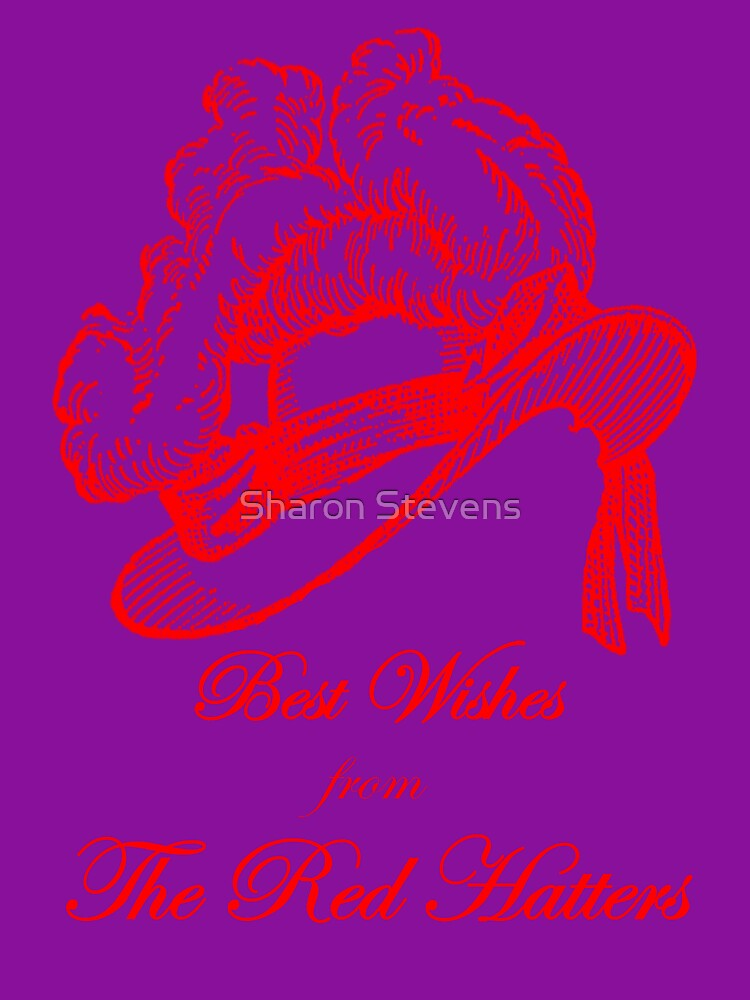 Best Wishes from The Red Hatters by Sharon Stevens