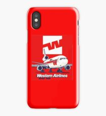 Western Airlines Dc-10 iPhone Case