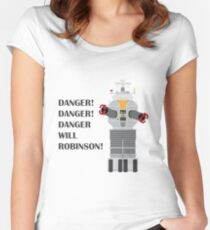 Robot - Lost in Space Women's Fitted Scoop T-Shirt