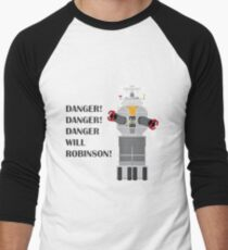 Robot - Lost in Space Men's Baseball ¾ T-Shirt