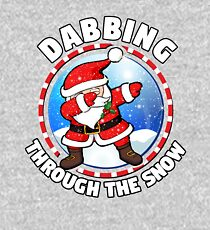 Dabbing Through The Snow Kids Pullover Hoodie