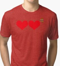Who Do You Love? 4 Tri-blend T-Shirt