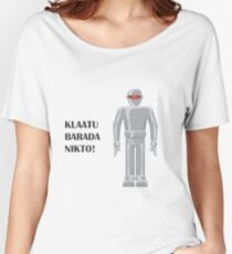 Gort - The Day the Earth Stood Still Women's Relaxed Fit T-Shirt