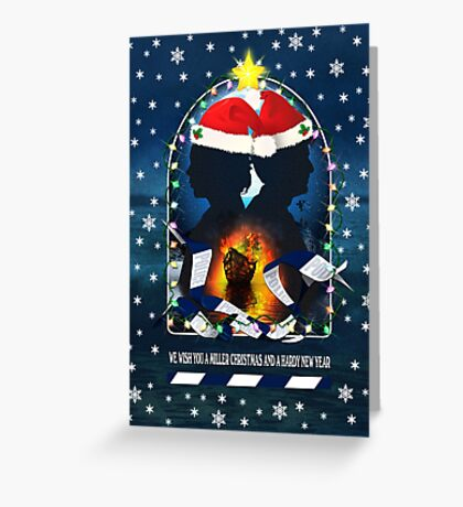 We wish you a Miller Christmas Greeting Card