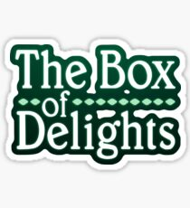 THE BOX OF DELIGHTS LOGO Sticker