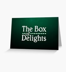 THE BOX OF DELIGHTS LOGO Greeting Card