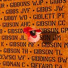 Memorial panel at the IBCC by Gary Eason
