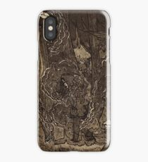 Oh, You Just Need to Get Outside More (Aquatint Edition) iPhone Case/Skin