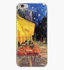 The Cafe Terrace on the Place du Forum, Arles, at Night,  Vincent van Gogh iPhone Case