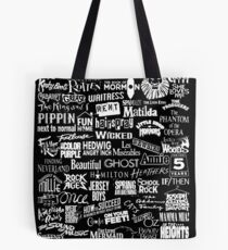 broadway baby {black and white version} Tote Bag