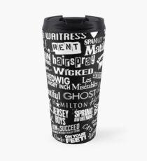 broadway baby {black and white version} Travel Mug