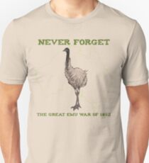 The Great Emu War of 1932 Unisex T-Shirt