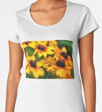 Summerina Yellow Women's Premium T-Shirt