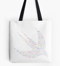 ASCII Swift (Light Version, Large Font Size) Tote Bag