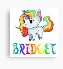 Bridget Unicorn Metal Print