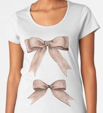 Beautiful bows Women's Premium T-Shirt