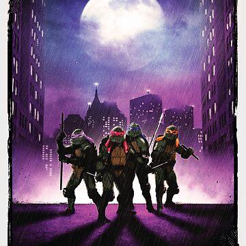TMNT - Ninja Turtles by graphicninja