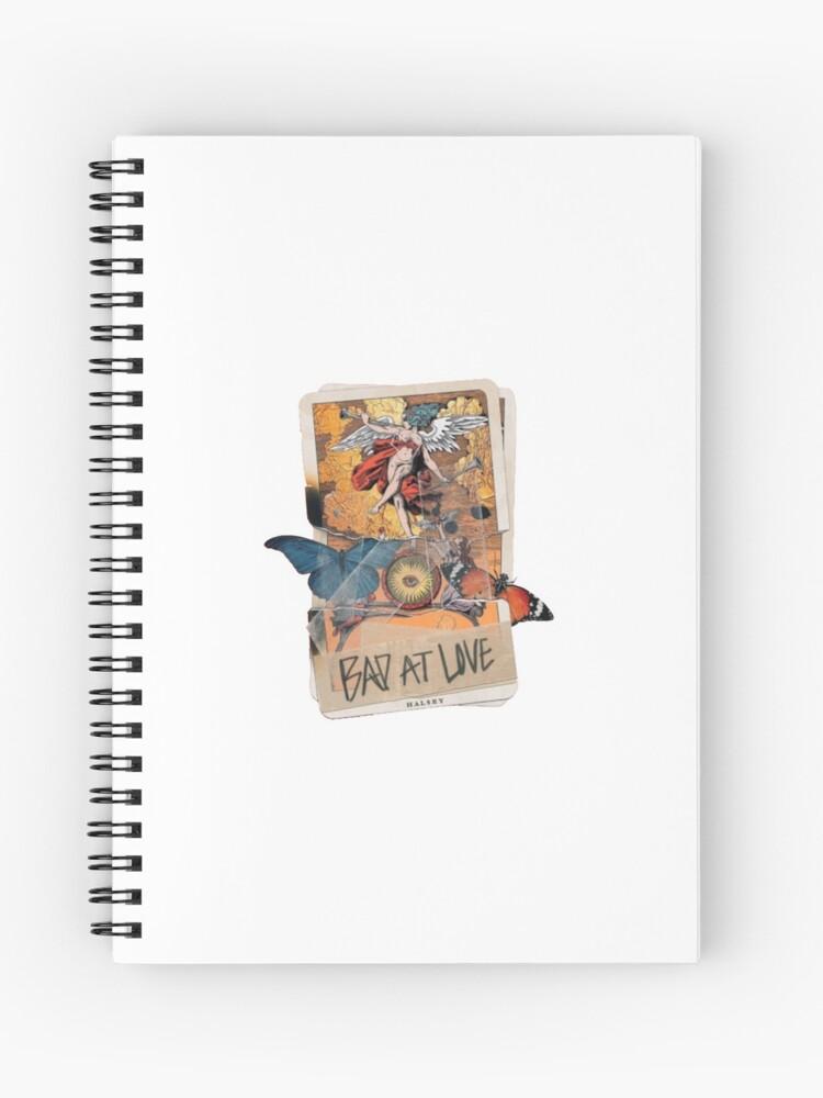 bad at love tarot card | Spiral Notebook