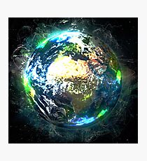 Earth Photographic Print
