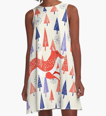 Holiday Mood A-Line Dress