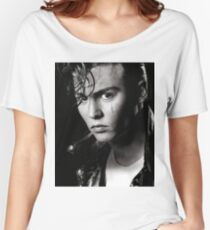 johnny depp draw Women's Relaxed Fit T-Shirt