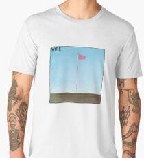 Wire - Pink Flag Men's Premium T-Shirt