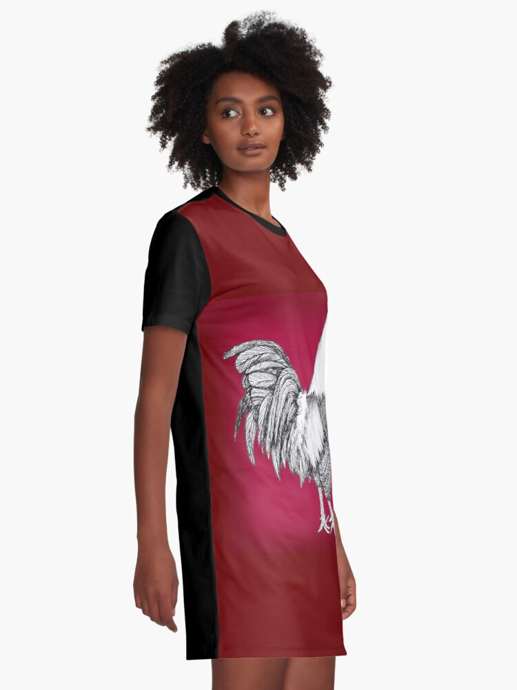 Alternate view of Gamecocks Graphic T-Shirt Dress