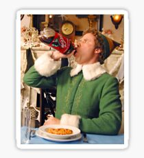 Buddy the elf and Coke Sticker