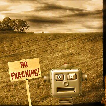 No Fracking! by Vicfilter