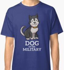 Hund des Militärs Classic T-Shirt