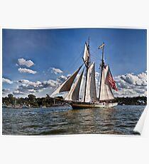 Der Stolz von Baltimore - Großsegler - Erie, PA Poster