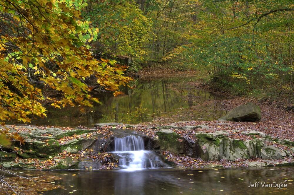 Fall Creek Gorge - Waterfall - Final Shot by Jeff VanDyke