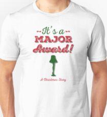 A Christmas Story - It's a Major Award! Unisex T-Shirt