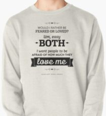 Dunder Mifflin The Office - Michael Scott Feared or Loved Pullover