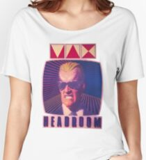 max headroom Women's Relaxed Fit T-Shirt