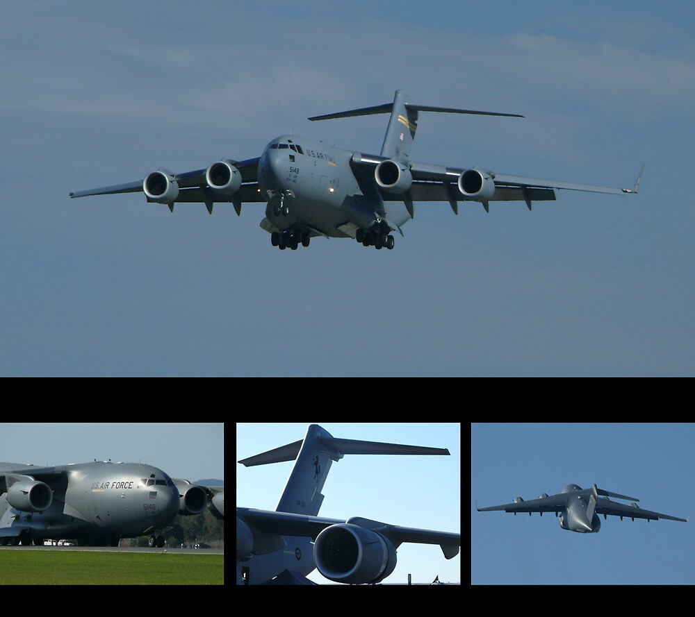 C-17A Globemaster III  by Tim Everding