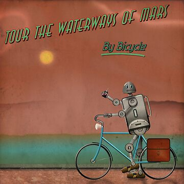Tour the Waterways of Mars - by Bicycle by Vicfilter