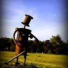 Scarecrow in a Field by Charmiene Maxwell-Batten