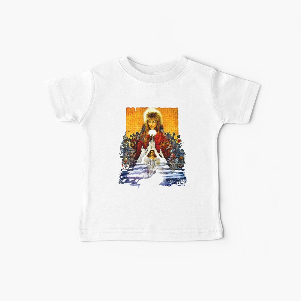 Labyrinth Poster Baby T-Shirt