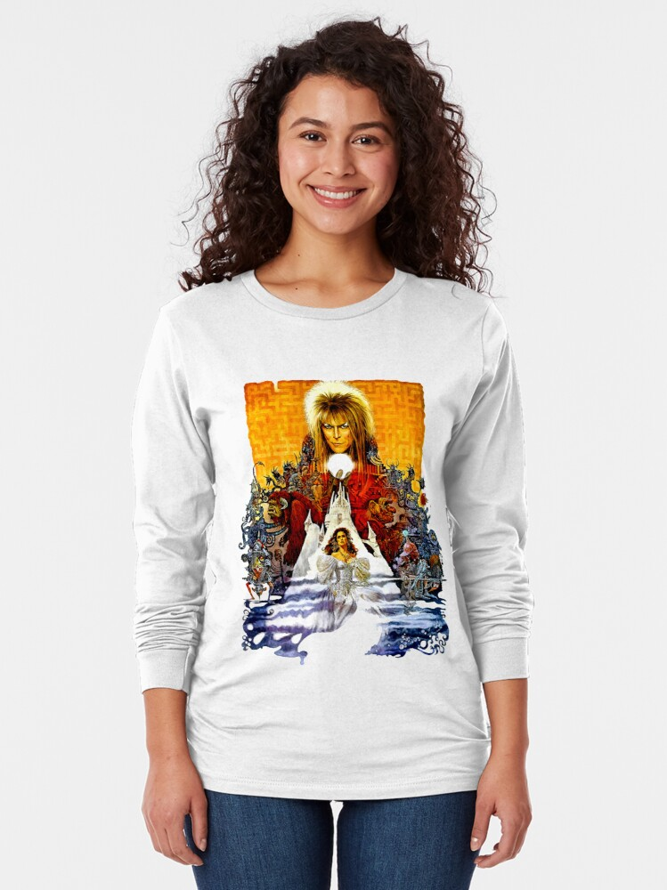 Alternate view of Labyrinth Poster Long Sleeve T-Shirt